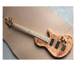 custom basses china Australia - free shipping china factory custom new 4 string bass guitar, butterfly factory wholesale real photos high quality 8pai