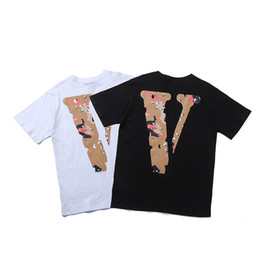 vlone friends t shirt Australia - VLONE FRIENDS- 19SS Camouflage Logo Men Women Desert t-shirt