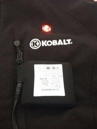 Toptan satış ORORO Isıtmalı Ceket 7.4V 5200MAH için pil takımı ve şarj cihazı