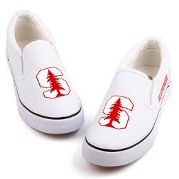 $enCountryForm.capitalKeyWord Australia - Hot Sale-Hot America College Students Canvas Shoes Slip On Custom Print Black Casual Loafers Womens Flat Walking Shoes Zapatos Drop Ship d3