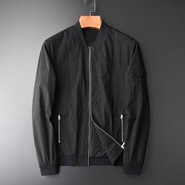 $enCountryForm.capitalKeyWord Australia - OLN Man Jacket Luxury High Density Baseball Collar Mens Jackets And Coats Fashion Crease Resistant Slim Fit Male Jackets 4XL