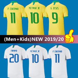 $enCountryForm.capitalKeyWord NZ - 19 20 Brazil soccer jersey Neymar jersey American Cup G.JESUS Brasil camisetas de futbol 2020 FIRMINO Brazil home away kids football kits