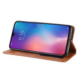 $enCountryForm.capitalKeyWord UK - Magnetic Vintage Premium Leather Case Coque For Xiaomi Mi CC9 CC 9 MiCC9 MiCC 9 Case 6.39 inch Flip Frivolous Anti Fall Cover