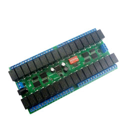 $enCountryForm.capitalKeyWord Australia - 1pc 12V 32 Channel RS485 Relay Module Serial Switch PLC Controller CR88