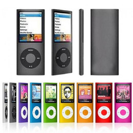 Wholesale 1 inch mp3 player GB GB Music playing with fm radio video player E book player MP3 with built in memory