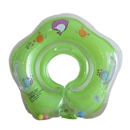 Wholesale Baby Swim Neck Ring Safety Swimming Pool Accessories Baby Tube Ring Infant Neck Float Circle For Bathing Inflatable years