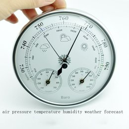$enCountryForm.capitalKeyWord Australia - Hot selling Wall mounted household thermometer hygrometer high accuracy pressure gauge air weather instrument barometers