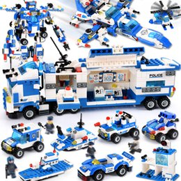 $enCountryForm.capitalKeyWord Australia - 825PCS 762PCS 8 IN 1 Robot Aircraft Car Compatible LegoINGLY City Police Building Blocks Sets Creator Bricks Toys For Children