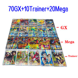 $enCountryForm.capitalKeyWord Australia - 100pcs flashing cards GX EX MEGA TRAINER ENERGY anime collection cards kids novelty toy game cool printing monsters intellectual Boy fighter