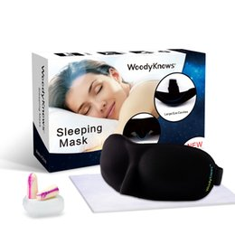 $enCountryForm.capitalKeyWord Australia - Super Soft Eye Mask for Travel Sleep Sleeping Rest Aid Relaxer Eye Cover Patch Case Eye shade Blinder Blindfold Woodyknows T190618