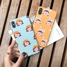 Discount case phone silk - Relief Silk Phone Case For Iphone X XS MAX XR TPU Cover For iPhone 6 7 8 Plus