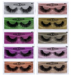 d7de3154ad2 DHL Free Shipping Newest 3D Mink Eyelashes Eye makeup Mink False lashes Soft  Natural Thick Fake Eyelashes Extension Beauty Tools 10styles