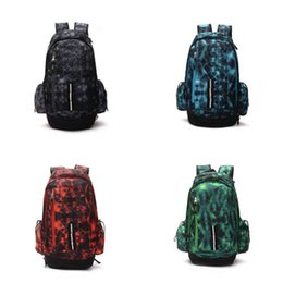 fabric school bags UK - 2018 New Fashion Basketball Backpacks Famous Sport Backpack Man And Women Backpack Large Capacity Training Travel Bags School Bag Shoes Bag
