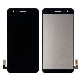 Touch Digitizer Glass Screen Assembly Australia - For LG K4 2017 M160 X230 X230DSF Black Touch Screen Digitizer Sensor Glass Panel + LCD Display Monitor Screen Panel Assembly