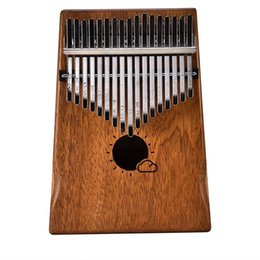 Dependable Portable 17 Key Kalimba Single Board Mahogany Thumb Piano Mbira Mini Keyboard Instrument With Complete Accessories Home