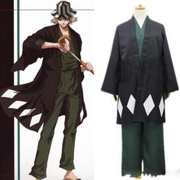 Venta al por mayor de Urahara Kisuke trajes de cosplay kendo ropa anime japonés BLEACH ropa mascarada / Mardi Gras / trajes de carnaval suministro de stock