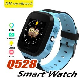 $enCountryForm.capitalKeyWord Australia - Q528 Smart Watch Children Wrist Watch Waterproof Baby Watch With Remote Camera SIM SOS Calls LBS Location Gift For Kids in Retail Box
