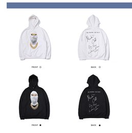 $enCountryForm.capitalKeyWord Australia - Mens Designer Hoodies Luxury Hiphop Wear Fashion Trendy Masked Mans Sweater Trendy Loose Mens Clothes 2019 New Excellent Quality Tops
