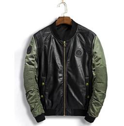$enCountryForm.capitalKeyWord Australia - FREE shipping New men's jacket aliexpress casual fashion stand-up collar baseball suit pilot coat men