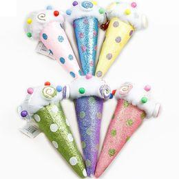 $enCountryForm.capitalKeyWord Australia - Wholesale Ice Cream Candy House Pendant Christmas Decorations Pendant Christmas Tree Ornaments Colorful Foam Cake Pendant BH0135 TQQ