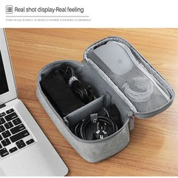 mouse clothing NZ - Laptop Power Supply Mouse Cable Storage Bags Digital Accessories Storage Bag Charger Organizer