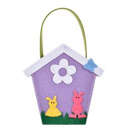 $enCountryForm.capitalKeyWord UK - Candy Bag Small Cute Tote Storage Bag Easter Day Sunday Party House Gift Purple Handbags Hand Bags For Girl Kid Girls Handbag