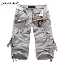 984f8edb90 Camuflaje Camo Cargo Shorts hombres 2017 nuevos Mens Shorts ocasionales  masculinos Shorts de trabajo sueltos hombre pantalones cortos militares  Y19042005