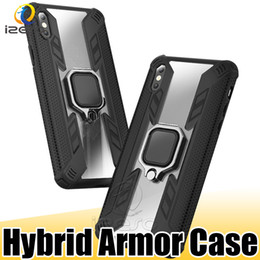 Plastic case for iPhone customize online shopping - Hybrid Armor Kickstand Phone Cover for Apple iPhone XS Max XR X Huawei P30 Pro P Smart Hard Cellphone Cases