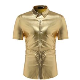 2c9d0268ff4 MUQGEW men shirt camisa masculina manga curta Fashion Men Slim Fit Short  Sleeve Solid Muscle Tee T-shirt Casual Tops Blouse G4