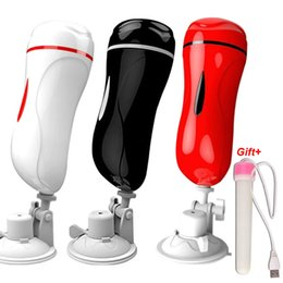 suction cup pussy UK - Vagina Male Anal Masturbator for man pocket Cup Pussy vagina Real Suction vibrator Cup Masturbation Sex For Toys Men gay MX191228 Hmkoe