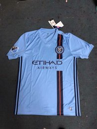 $enCountryForm.capitalKeyWord Canada - New York City FC 2019 Home Blue Soccer Jersey nycfc MLS PIRLO MORALEZ LAMPARD DAVID VILLA MCNAMARA MEDINA Football Shirt 2XLTop Quality