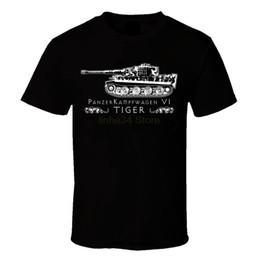 $enCountryForm.capitalKeyWord Australia - funny t shirts Mens Achtung Tiger German Panzer Tank Black Tee Shirt WW2 Military Armour T-shirt