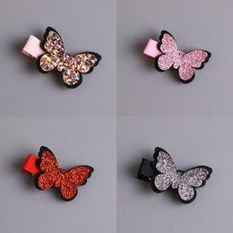 $enCountryForm.capitalKeyWord Australia - 1pcs New Cute Baby Girls Hair Accessories Sequins Heart Butterfly Barrettes Glitter Stars Clip Pin Kids Children Hairpin