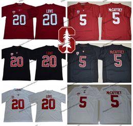 Football Cardinals Canada - 2019 Stanford Cardinals Christian McCaffrey College Football Jerseys 20 Bryce Love 5 Christian McCaffrey University Football Shirts