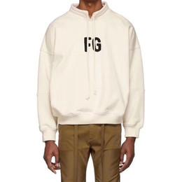 $enCountryForm.capitalKeyWord UK - Hip hop Streetwear FEAR OF GOD split hem Oversize pullover stand collar sweater Casual Letter FG Flocking Sweatshirt Hoodies Jacket
