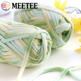 $enCountryForm.capitalKeyWord Australia - Meetee Wool yarn Section Dyed Cloth Line Hand-woven Mat Line DIY Hand-knitting Cord Bag Line Carpet Rope Crochet Craft