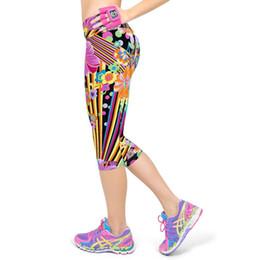 Beige Short Leggings Australia - Short Leggings For Women Lady Cropped Trousers Vintage Floral Print Elastic Waist Push Up Gothic Capri Pants