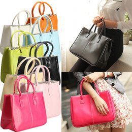 $enCountryForm.capitalKeyWord NZ - 2019 Vogue Women's Classy Handbag Lady Candy Color Soft Totes Shoulder Bag 8 Colors Fa$b Women Bag
