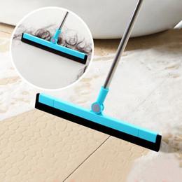 Limpeza ferramentas mágicas Sponge Broom Clean Sweep cabelo Poeira Rotating Raspagem Banho Ferramentas de vidro da cozinha Wiper Blade limpeza Sweeper VT0124 em Promoção