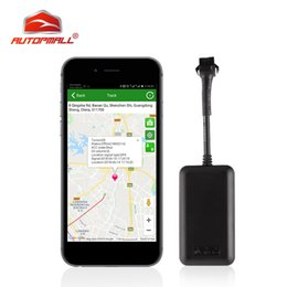 power antenna cars Australia - Mini GPS Tracker Car Waterproof IP66 GPS Locator Auto TK108 Cut Off Oil Power Car Tracker Vehicular Overspeed Vibration Alarm
