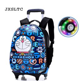 c2cf49d000 NEW Cartoon Kids ABS Rolling Luggage Trolley Case Children Luggages Spinner  Suitcase Carry Ons Boy Girl Wheeled Bag Backpack