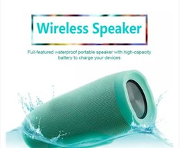 $enCountryForm.capitalKeyWord Canada - Portable Charge 3 Wireless Bluetooth Speaker Battery 1200mAh Support Power Bank Function TF Card Portable Waterproof Speakers