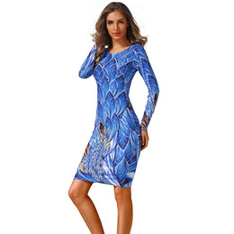 6a7f2dba787072 Spring Summer Dress Women 2019 Casual Plus Size Long Sleeve Office Bodycon  Dress Female Sexy Club Evening Party Dresses