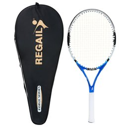 $enCountryForm.capitalKeyWord UK - High Quality 1Pc New Carbon Tennis Racket Indoor Outdoor Practice Training Tennis Racquet Training Sport Rackets With Cover Bag