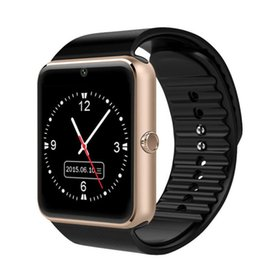 Samsung Smart Watches Camera Australia - Smart watch GT08 1.5 inch color screen step sleep monitoring camera alarm clock smart wear Bluetooth card sports watch FOR: IPHONE Samsung