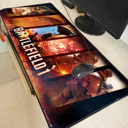 GaminG computers best online shopping - Mairuige Battlefield x400x3mm Pad Mouse Notbook Computer Padmouse Best Gaming Lock Edge Mousepad Gamer To Keyboard Mouse Mats
