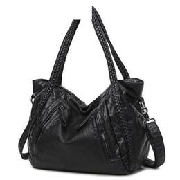 Big Ladies Handbags NZ - good quality 2019 Large Soft Leather Bag Women Handbags Ladies Crossbody Bags For Women Shoulder Bags Female Big Tote Sac A Main