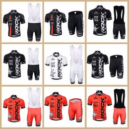 $enCountryForm.capitalKeyWord NZ - 2019 Hot Sale ROCK RACING Team Cycling Jersey bib shorts Set MTB Bike Clothing Breathable Bicycle Clothes Men Short Maillot Culotte Y041001
