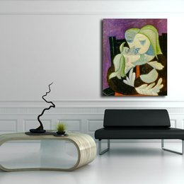 Decorative pictures for beDrooms online shopping - Picasso Mother And Child Wall Art Canvas Poster And Print Canvas Painting Decorative Picture For Office Bedroom Home Decoration