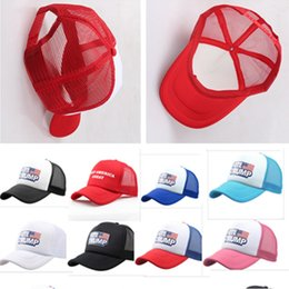 1af6e16e Vote Trump Mesh Baseball Cap Keep America Great 2020 Hats Adjustable  Snapbacks 2019 Summer Beach Fishing Jogging Ball Cap Sun Visor B5162